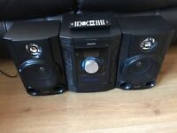 small stereo system need gone ASAP as no room for it
