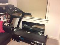 Mint condition Reebok ZR10 Treadmill / Running Machine RRP £1,199.99 + extras
