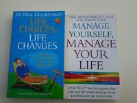 Self help and coaching books