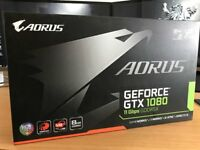 Gigabyte Aorus GTX 1080 11Gbps GDDR5