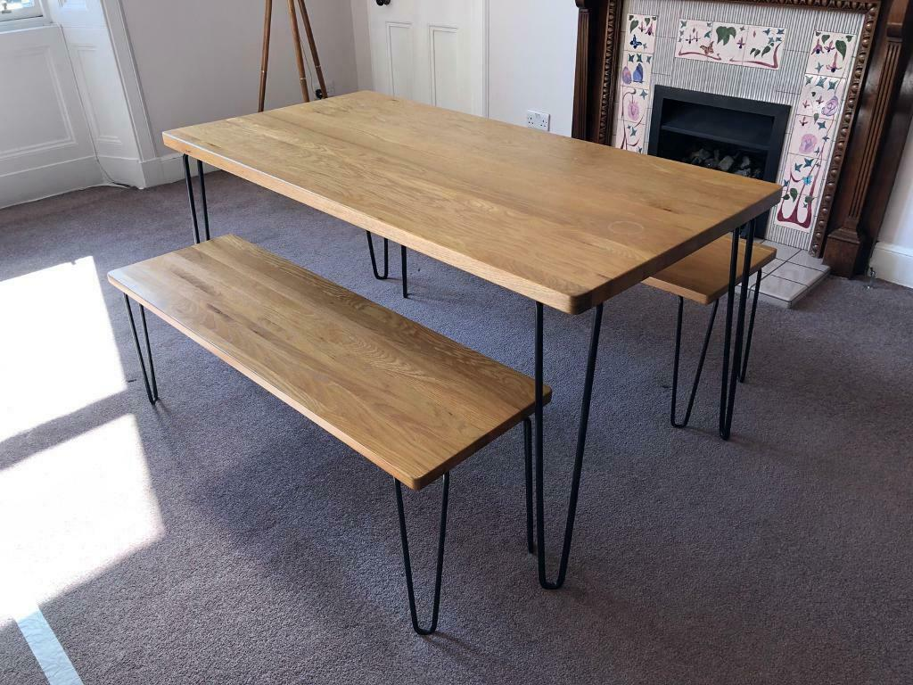92ed139151db Heals Brunel Industrial Dining Table and Benches | in Edinburgh City ...