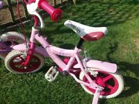 Young girls bikes