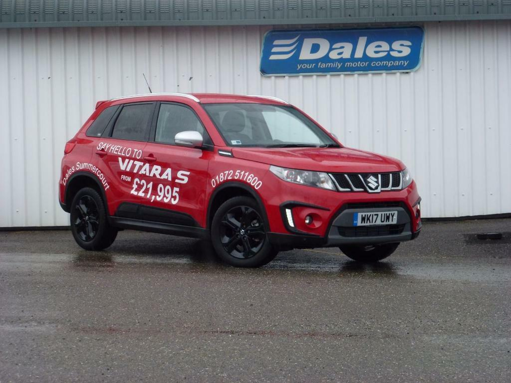 suzuki vitara 1 4 boosterjet s allgrip 5dr red 2017 in newquay cornwall gumtree. Black Bedroom Furniture Sets. Home Design Ideas