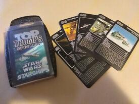 Star Wars Starships TOPTRUMPS Specials 2005 Rare