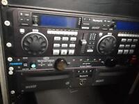 Numark CDN-95 is a dual 19-inch rack
