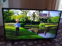 LG 49 LED TV SMART/UHD 4K/FREEVIEW HD/FREESAT/MEDIA PLAYER/WIFI/1000HZ/ AS NEW NO OFFERS