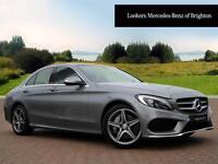Mercedes-Benz C Class C250 BLUETEC AMG LINE PREMIUM (silver) 2015-04-27