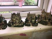 Little cottage ornaments