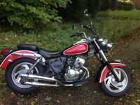 NO MOT Jinlun 125 custom cruiser