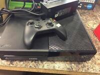 Xbox one set with 2 month warranty
