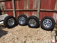 Mitsubishi L200 Alloy wheels and tyres