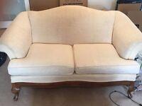 2 2-seater sofa set