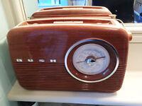 Bush classic retro radio