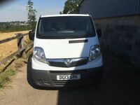 VAUXHALL VIVARO 2013 WITH AIR CON.1 COMPANY OWNED.GOOD RUNNER CLEAN VAN