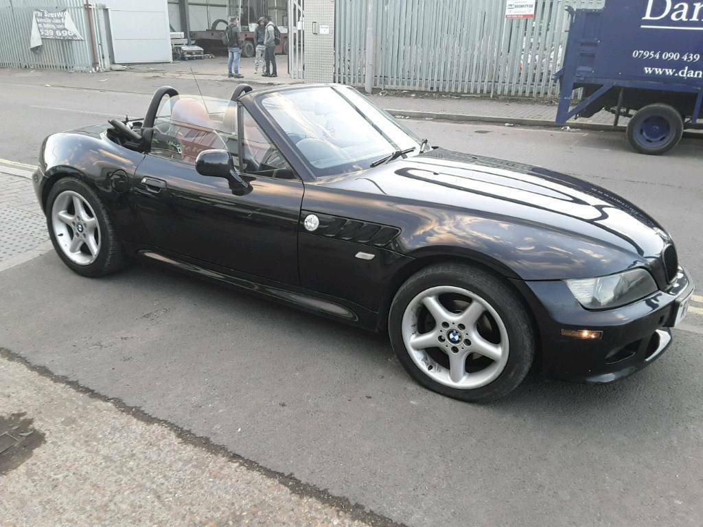 Bmw Z3 2 2i 2002 Black Convertible Roadster In