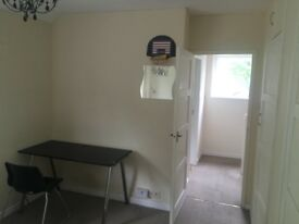 Double room with lots of storage