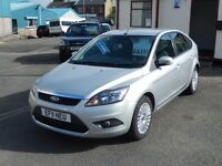 "Ford Focus ""Titanium"" 1.6 TDCi (110bhp) 5dr, Metallic Silver. ***£30 per year Road Tax***"