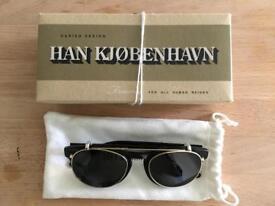 Han Kjobenhavn Timeless Clip-On Sunglasses - as new