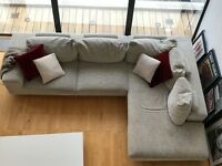 L-shaped sofa, coffee table, dining room table, dbl bed - all must go!