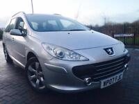 PEUGEOT 307 1.6 HDI S 110 ESTATE FACELIFT HISTORY *MINT CAR* *NO EXPENSE SPARED* TIMING BELT DONE