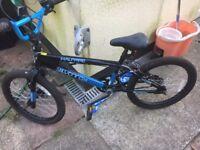 Halfpipe silverfox bmx bike 20 inch wheels