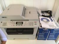 Brother MFC7360N Mono Laser Multifunction (Office Network) Print/Copy/Scan/Fax
