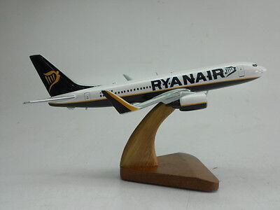 B 737 Ryanair Boeing B737 Airplane Desktop Wood Model Free Shipping Large
