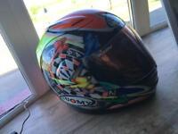 Suomy crash motorcycle helmet