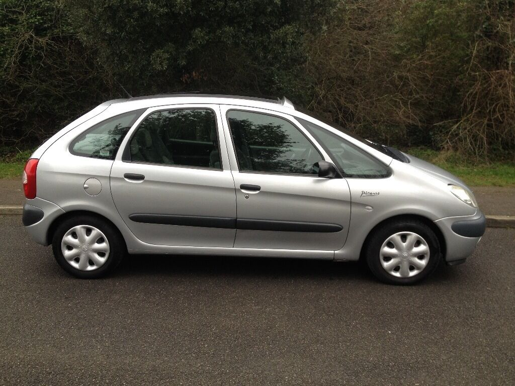 citroen xsara picasso hdi diesel 2002 79000 miles silver service history 750 in maldon. Black Bedroom Furniture Sets. Home Design Ideas