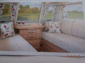 caravan cushions/bailey pegasis/light grey as new/.