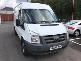 ***FORD TRANSIT 110 T350 MEDIUM TOP 2008 ONLY 65,000 MILES***