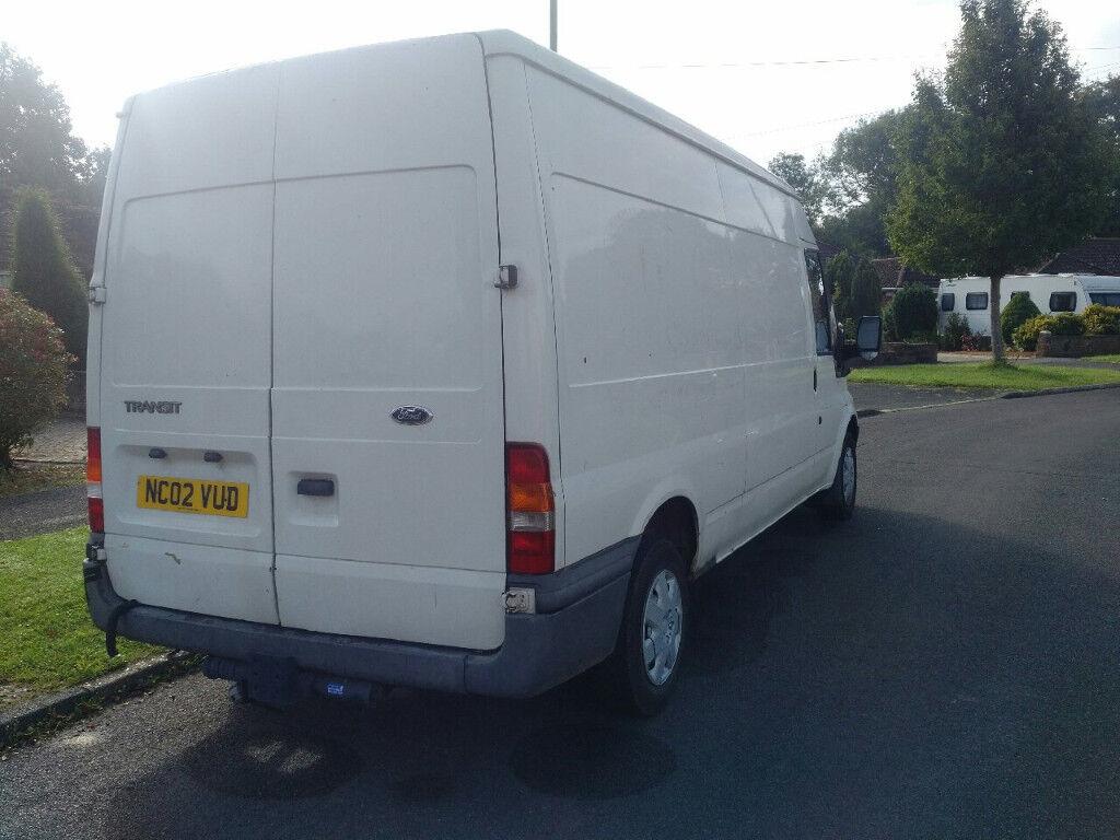 2002 ford transit t300 lwb long mot | in fareham, hampshire | gumtree