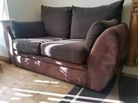 2 seater sofa with coffee table
