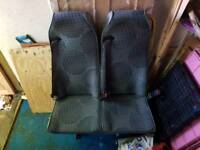 Double seat from transit 2011