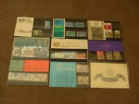 Collection of Stamps - UK and world albums UK First day covers & presentation packs 1960' s & prior