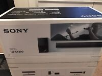 New Sony HT-CT390 Sound Bar and Sub