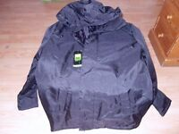 MEN PARKA HOODED PADDED JACKET LARGE - BRAND NEW WITH TAGS