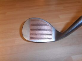BRONTY Forged Copper Faced. 60 deg. Sand wedge.