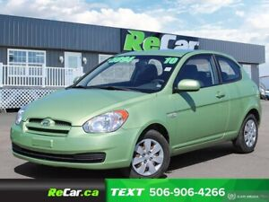 2010 Hyundai Accent GL AUTO | AIR | ONLY $5,994