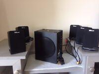 **SUPER SUMMER DEAL** 5.1 Speaker system – TRUST with adapter
