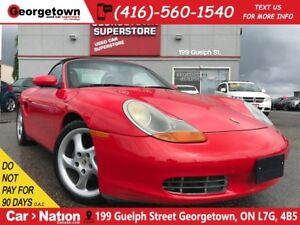2000 Porsche Boxster ROADSTER | 5 SPEED | LEATHER | LOW KM