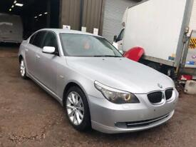2008 BMW 525D SE E60 LCI M57 3.0D ENGINE LEFT HAND DRIVE IN SILVER BREAKING