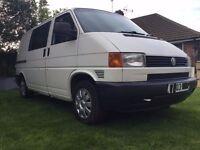 VW Transporter 2.5 TDI Crew Van/ Surf Van