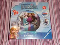 Brand New - Frozen 3D Puzzle Ball / Jigsaw