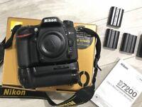 Nikon D7200 24.2MP Body only in Black