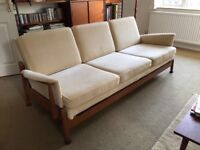 Vintage Scandart 1960's sofa bed