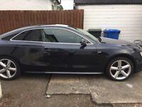 Audi A5 Sline. Navy Blue 211bhp