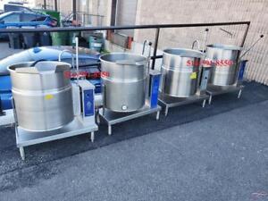 Cleveland 20 Gallon Electric Tilting Steam Pot Kettle / Marmite a Vapeur