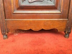 PIANO STOOL - Antique Mahogany with Drawers.