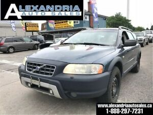2006 Volvo XC70 leather/sunroof/as is/you certify you save